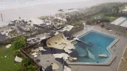 """Ураган """"Майкл"""" досягнув Флориди у США: моторошні фото і відео"""