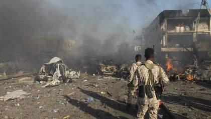 У Сомалі двоє смертників влаштували теракт, є загиблі