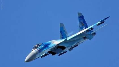 """Падіння літака Су-27: ЗСУ продовжують навчання """"Чисте небо – 2018"""""""