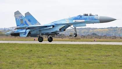 Після падіння Су-27 військова прокуратура вилучила документи на літак
