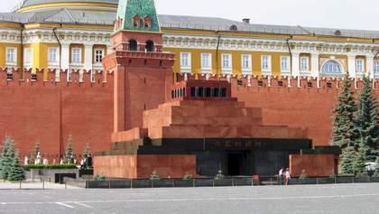 """У гості до Леніна в Москві завітала """"швидка"""": курйозне фото"""
