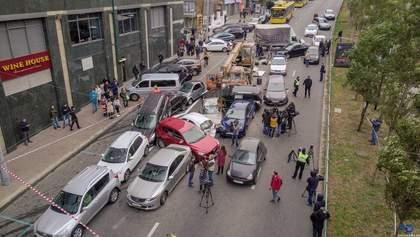 Масштабное ДТП с автокраном в Киеве: юристы рассказали, как получить возмещение убытков