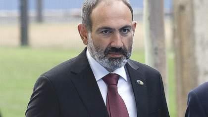 В Армении отклонили кандидатуру Пашиняна на пост премьера
