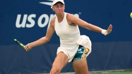 Українка Лопатецька несподівано пройшла у друге коло турніру в Канаді