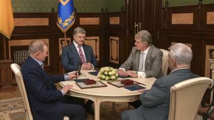 На Банковой собрались четыре президента, чтобы поговорить о будущем Украины