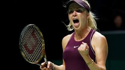 Элина Свитолина победила в своем первом финале Итогового турнира WTA
