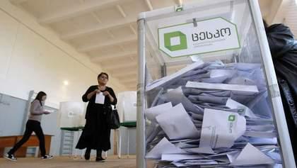 Президентские выборы в Грузии: объявили результаты экзит-поллов