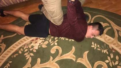 Покушение на координатора С14 Мазура: полиция задержала трех подозреваемых