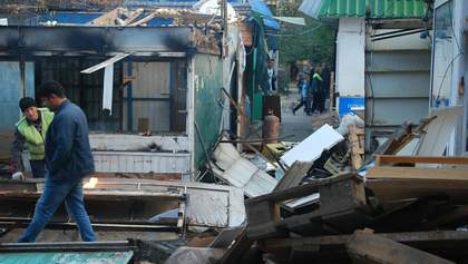 У Севастополі окупанти зносять ринок: фото і відео