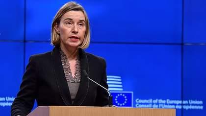 """Евросоюз не признает """"выборы"""" боевиков на Донбассе: Могерини выдвинула требования к РФ"""