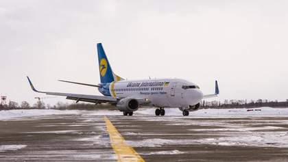 Снег в Киеве: как работают столичные аэропорты