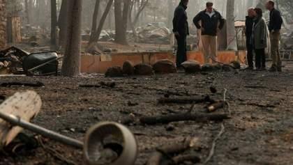 Кількість жертв та зниклих безвісти внаслідок пожеж у Каліфорнії стрімко зросли