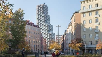 Innovationen Tower: як виглядає і чим вражає найвищий житловий хмарочос Стокгольма