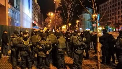 Протести біля Будинку профспілок: активістів побили, серед постраждалих – брат Найєма