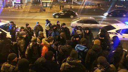 Затримання біля Будинку профспілок у Києві: у поліції прокоментували інцидент