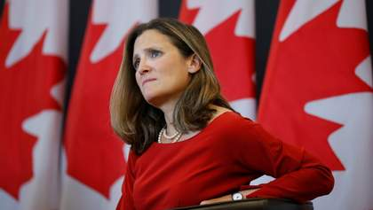 Канада всегда будет защищать суверенитет и территориальную целостность Украины, – Фриланд