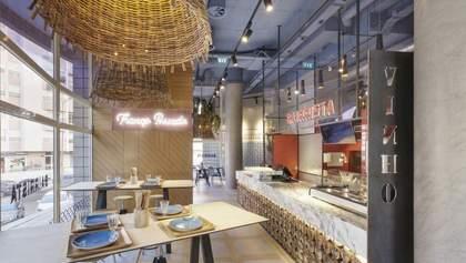 Як виглядає ресторан у Лісабоні з інтер'єром від українського дизайнера: фото