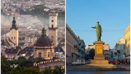 Цены на недвижимость в новостройках Львова и Одессы в ноябре 2018: сравнение