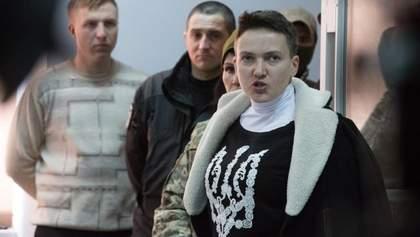 Надежда Савченко объявила сухую голодовку