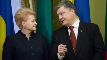 Мы получаем угрозы от России. Непросто быть первыми, кто вводит санкции, – президент Литвы