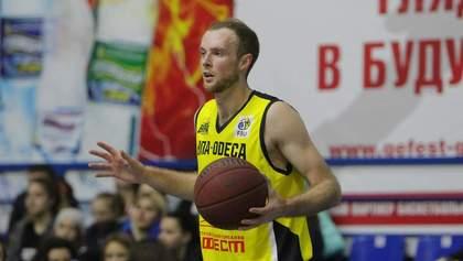 Українського баскетболіста забрали в лікарню прямо під час матчу