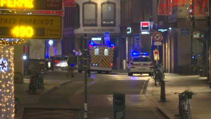 Смертельная стрельба в Страсбурге: первые фото и видео с места инцидента