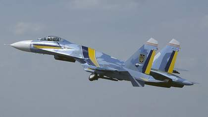 На Житомирщині розбився військовий літак Су-27: загинув пілот
