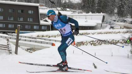 Прима опустився на 19 позицію в загальному заліку Кубка світу з біатлону
