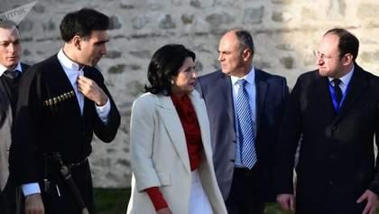 Інавгурація нового президента Грузії: Саломе Зурабішвілі офіційно вступила на пост глави держави