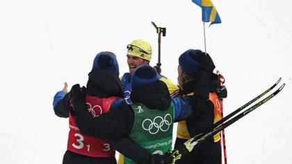 Біатлон: Шведам нема рівних в естафеті, українці зі слабкою швидкістю тільки 16-ті