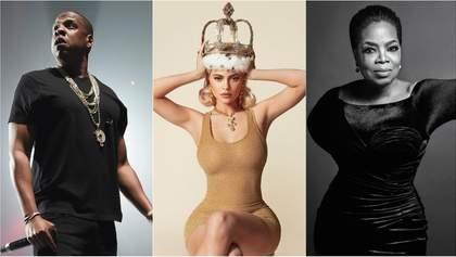 Forbes назвал 10 самых богатых звезд мира: среди них Кайли Дженнер, Опра Уинфри и Jay-Z
