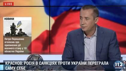 Росія переграла саму себе у питанні впровадження санкцій проти українських політиків