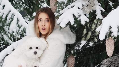 Внучка Софии Ротару снялась в атмосферной зимней фотосессии: яркие фото