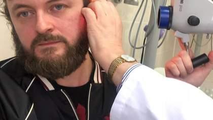 Дзидзьо с больничной койки поздравил украинцев с Новым годом: видео
