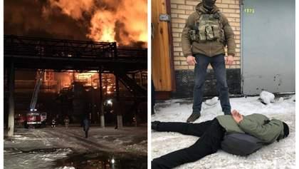 Головні новини 13 січня: пожежа на хімзаводі в Калуші, затримання викрадачів чоловіка в Києві