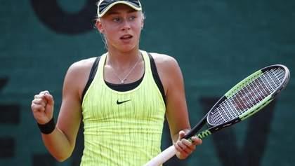 Українська тенісистка виграла другий титул за два тижні