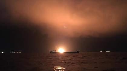 Живых больше не ищут: появились новые детали страшного пожара на судах близ Керчи