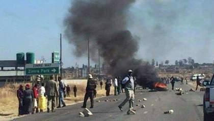 Масові протести у Зімбабве: жителі вимагають відставки президента – фото, відео