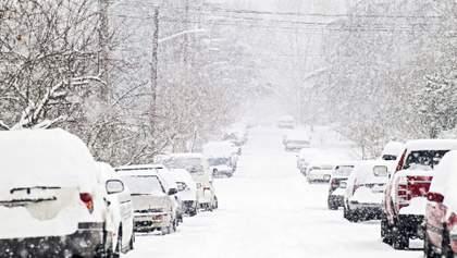 Аеропорти скасовують рейси, рух транспорту обмежений: як столиця переживає аномальні снігопади