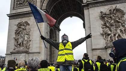"""У Франції """"жовті жилети"""" вирішили взяти участь у виборах до Європарламенту"""