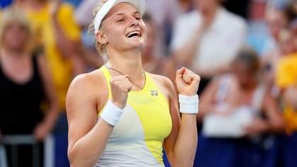 Ястремская впервые попала в топ-50 рейтинга WTA, Цуренко и Свитолина сохранили позиции