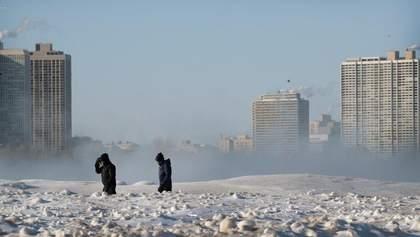 """Українцям радять не відвідувати деякі регіони США через сніговий шторм """"Джейден"""""""