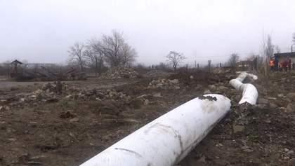Чергова аварія колектора у Бердянську залишила кілька районів міста без води