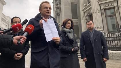 Садовий оприлюднив угоду, яку пропонував Порошенко для зняття сміттєвої блокади Львова
