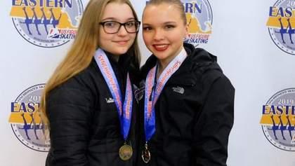 Вихованки українського фігурного катання стали зірочками у США