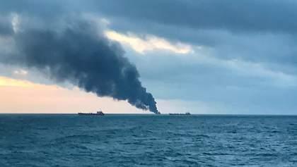 Пожар в Керченском проливе: два танкера горят уже 22-й день