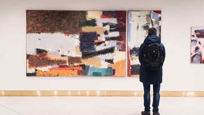 Відомий український художник показав нові роботи у Києві