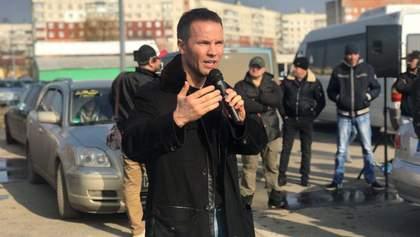 Дерев'янко на автопробігу в Чернівцях: 10% за розмитнення – це наша ВОЛЯ