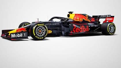 Red Bull показав справжню ліврею боліда для Формули-1