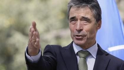 Щоб Росія не обдурила Україну, – екс-керівник НАТО розповів, як можна зупинити війну на Донбасі